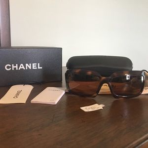 Authentic Chanel Sunglasses - Scratched Lenses